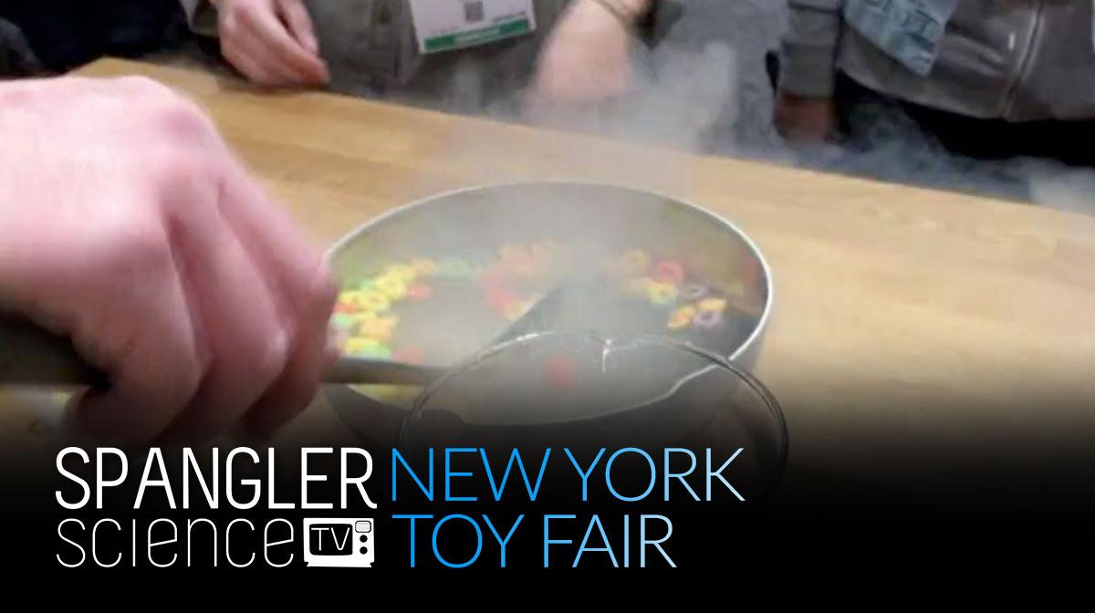 New York Toy Fair with Steve Spangler on 9NEWS