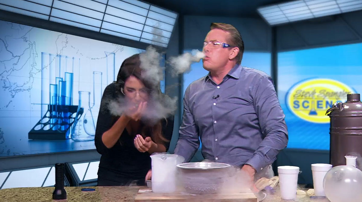 Super Cool Science with Steve Spangler and Christine Noel