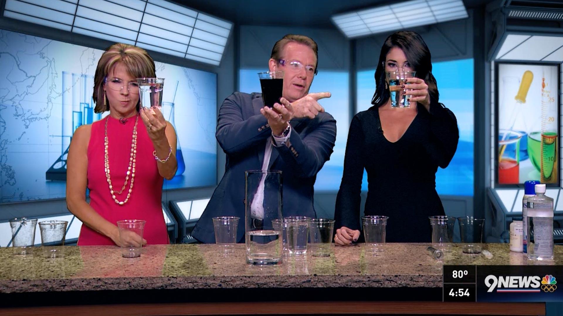 Steve Spangler's Chemical Magic on 9News