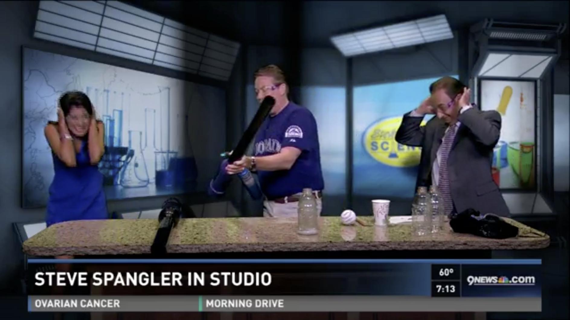 Steve Spangler First Pitch Science