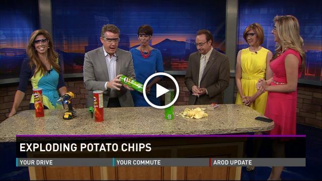 Exploding Potato Chips
